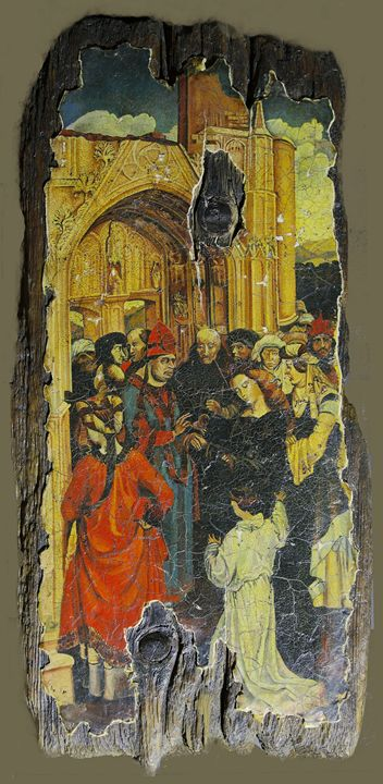 Marriage of the Virgin - Sergey Lesnikov art