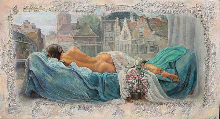 A dream. - Sergey Lesnikov art
