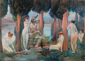 Paul Gervais. La Folie de Titania - Sergey Lesnikov art
