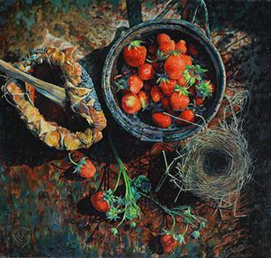 Strawberry - Sergey Lesnikov art