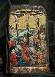 Crucifixion - Sergey Lesnikov art