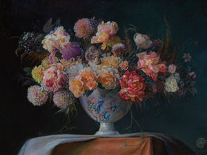 Grand bouquet - Sergey Lesnikov art