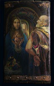 Last conversation - Sergey Lesnikov art