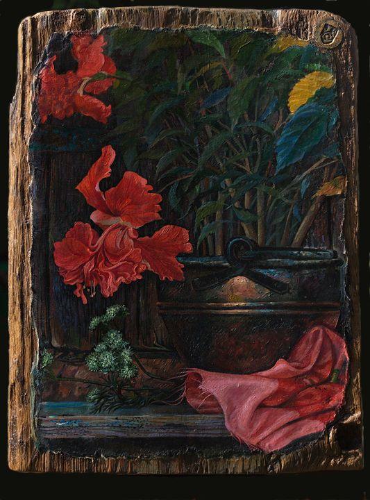 Hibiscus - Sergey Lesnikov art