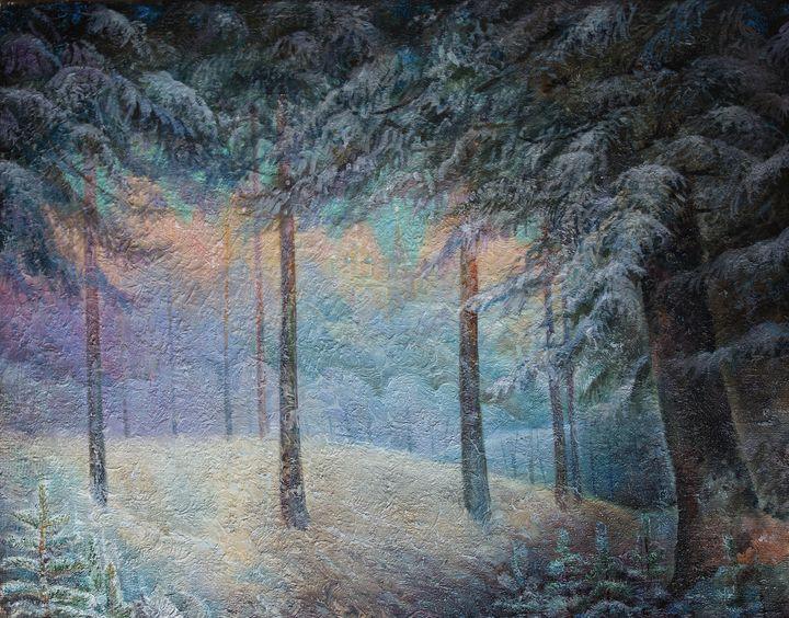 Winter - Sergey Lesnikov art