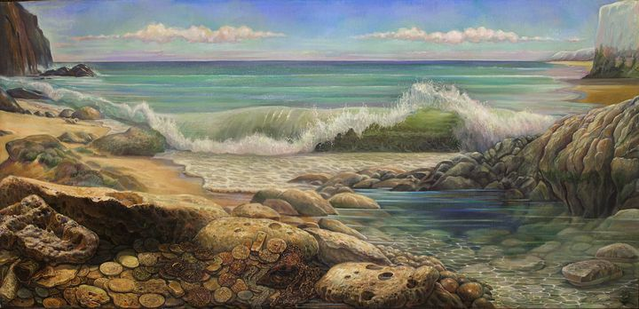 Gold coast - Sergey Lesnikov art