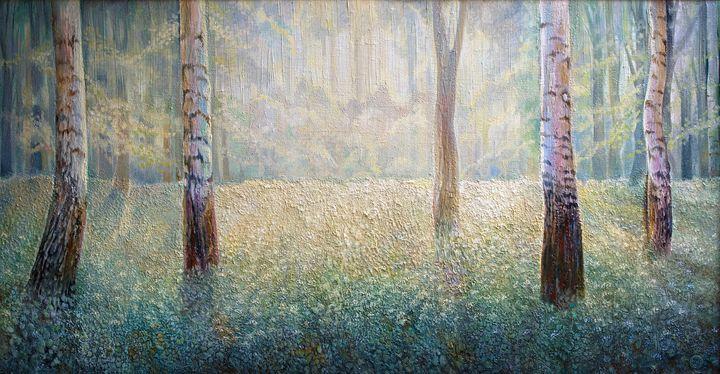 In the sunlight - Sergey Lesnikov art