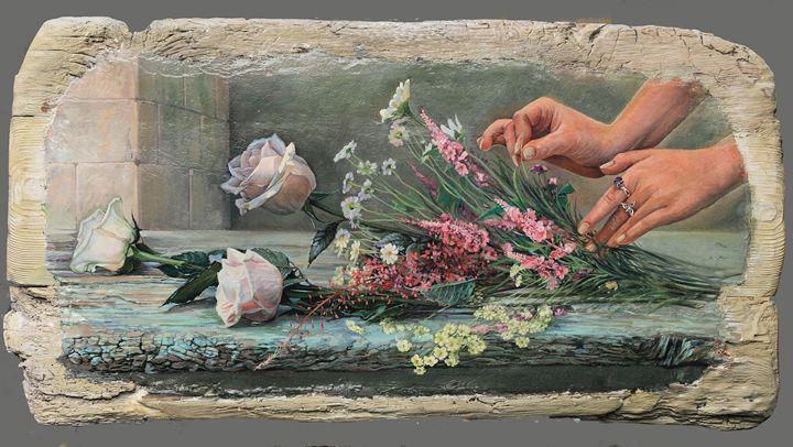 New bouquet - Sergey Lesnikov art