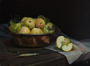 Apples - Sergey Lesnikov art
