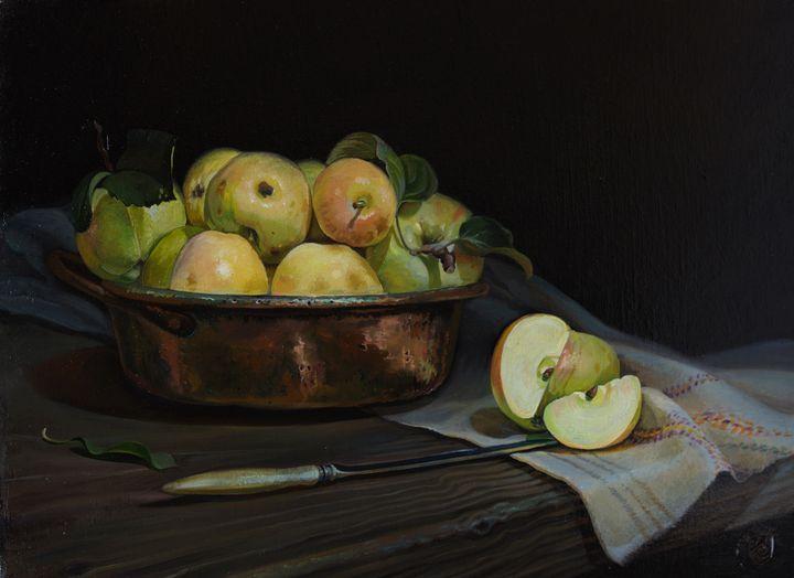 Apples - Sergey Lesnikov art