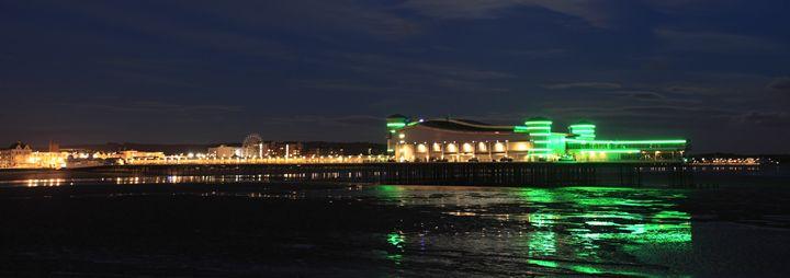 Victorian pier, Weston Super Mare - Dave Porter Landscape Photography