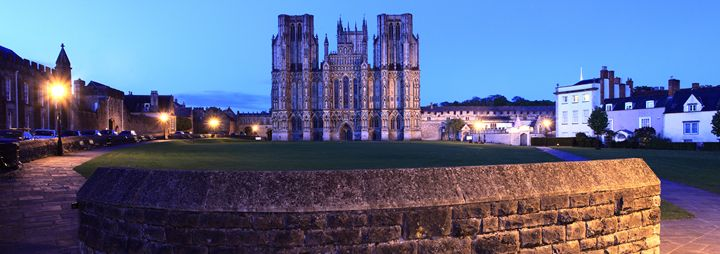 Cathedral church of St Andrews Wells - Dave Porter Landscape Photography