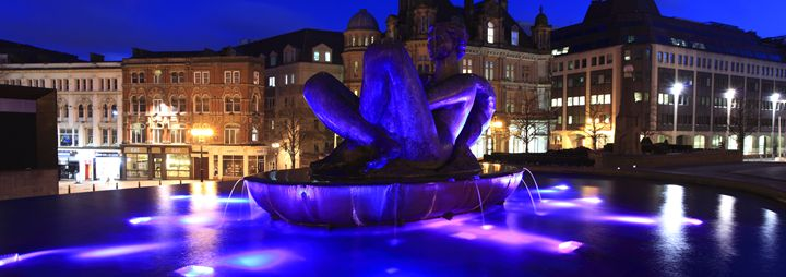 Victoria Square, Birmingham City - Dave Porter Landscape Photography