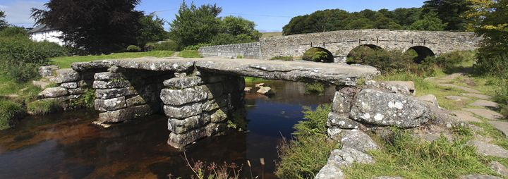 Clapper Bridge Dart river Dartmoor - Dave Porter Landscape Photography