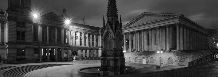 Chamberlain Square, Birmingham City - Dave Porter Landscape Photography
