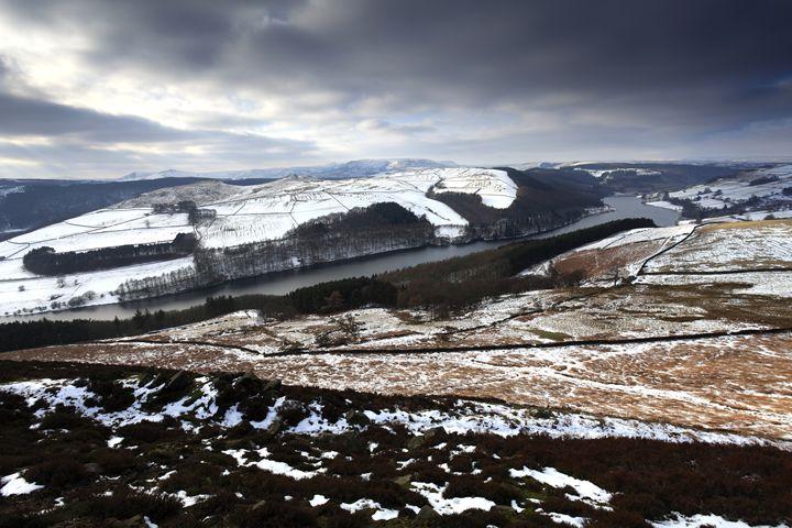 Ladybower reservoir Derbyshire - Dave Porter Landscape Photography