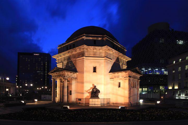 Hall of Memory Birmingham City - Dave Porter Landscape Photography