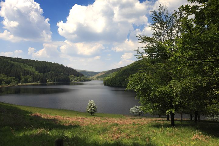 Spring Ladybower lake Derbyshire - Dave Porter Landscape Photography