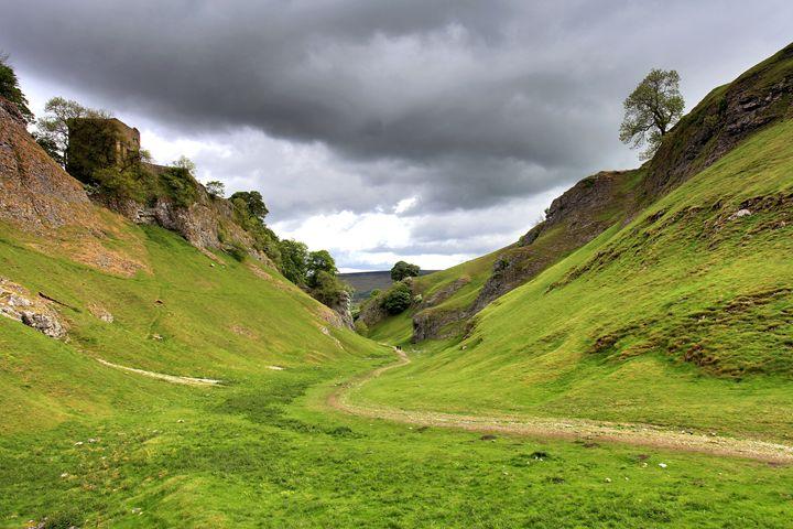 Cave Dale Castleton Derbyshire - Dave Porter Landscape Photography