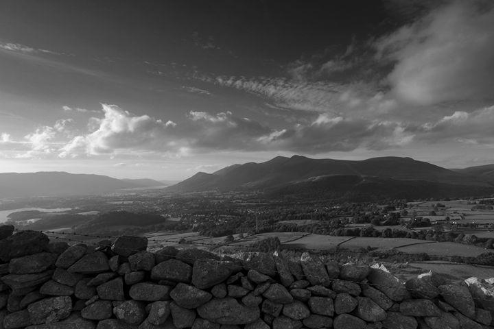 Threlkeld valley, Lake District, UK - Dave Porter Landscape Photography