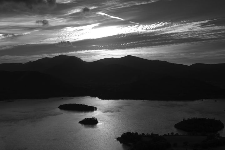 Derwentwater Keswick Lake District - Dave Porter Landscape Photography
