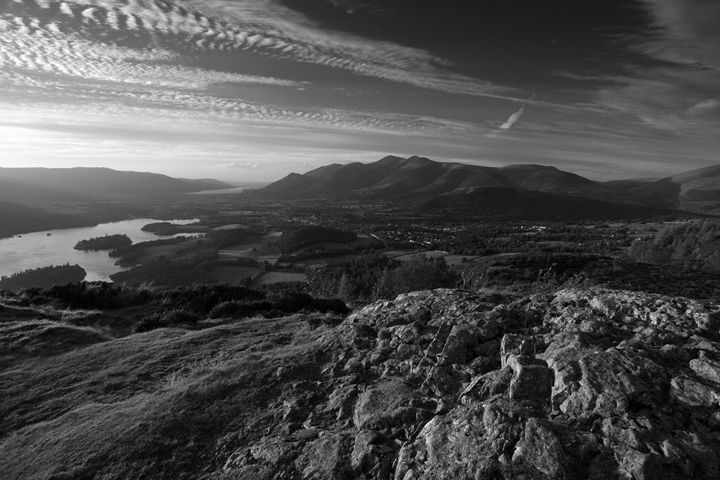 Walla Crag Fell Lake District UK - Dave Porter Landscape Photography
