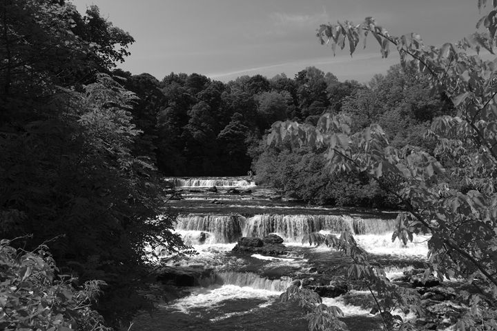 River Ure Aysgarth Falls Yorkshire - Dave Porter Landscape Photography