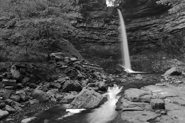 Hardraw Force River Ure Yorkshire - Dave Porter Landscape Photography