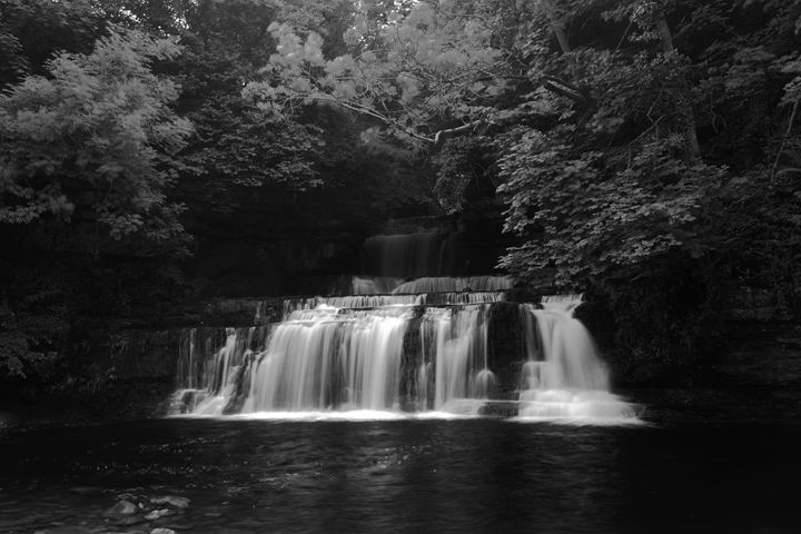 Cotter Force waterfall Yorkshire - Dave Porter Landscape Photography