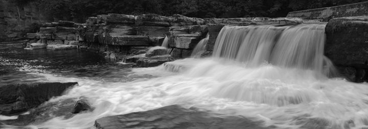 Waterfalls river Swale Yorkshire UK - Dave Porter Landscape Photography
