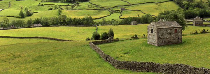 Stone barns, Swaledale - Dave Porter Landscape Photography