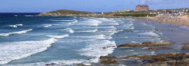 Fistral Surfing beach, Newquay - Dave Porter Landscape Photography