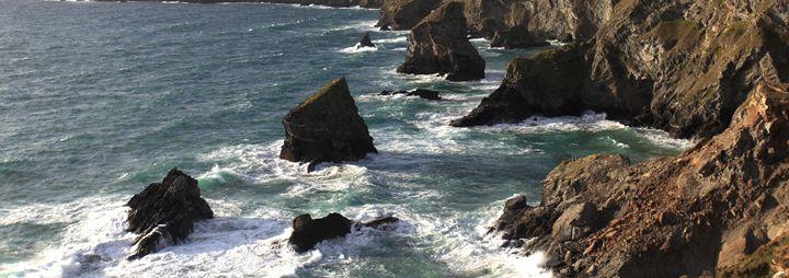 Bedruthan Steps sea stacks - Dave Porter Landscape Photography