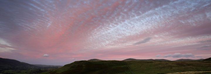 Sunset over Walla Crag - Dave Porter Landscape Photography