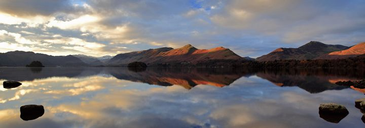 Dawn Sunrise over Cat Bells Fell - Dave Porter Landscape Photography