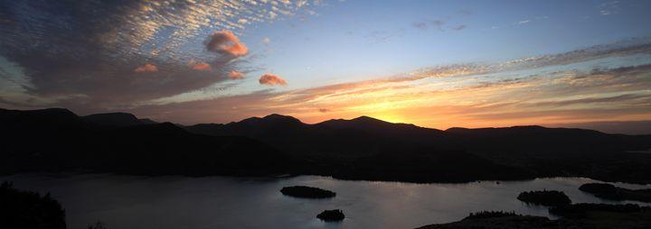 Sunset over Derwentwater - Dave Porter Landscape Photography