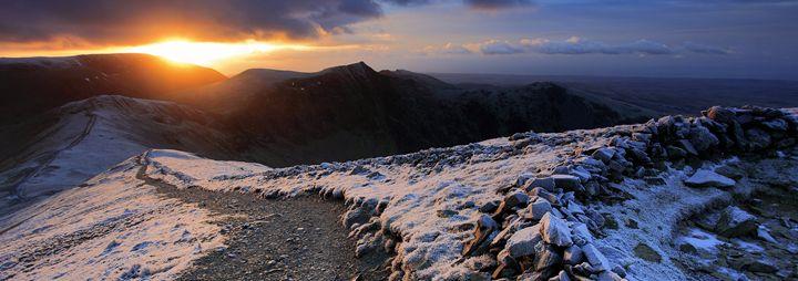 Grisedale Pike summit - Dave Porter Landscape Photography
