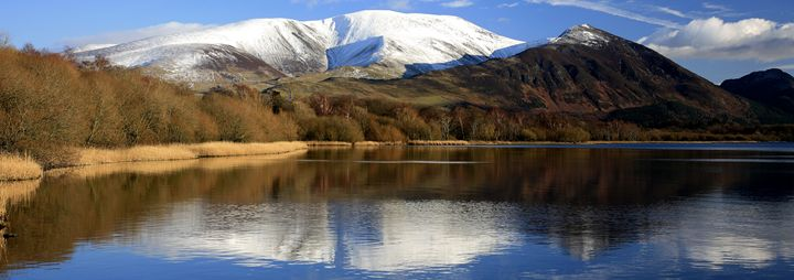 Snow on Skiddaw Mountain - Dave Porter Landscape Photography