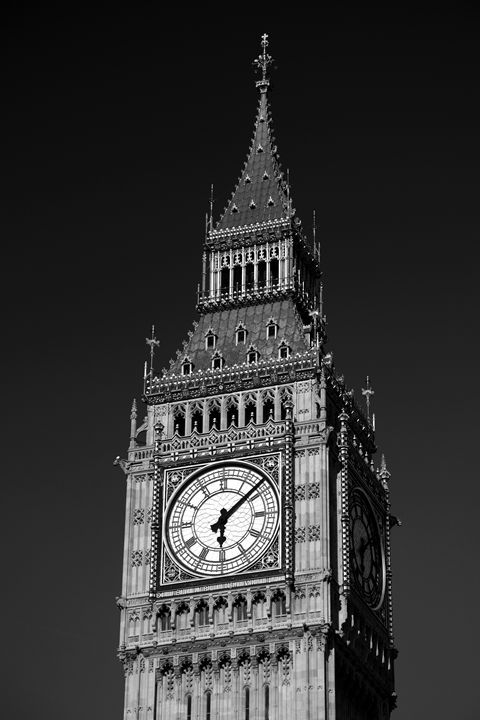 Big Ben Clock tower London - Dave Porter Landscape Photography