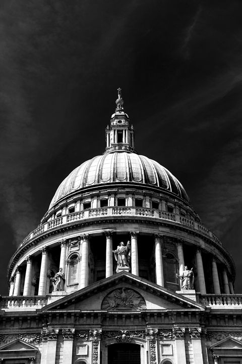 Saint Pauls Cathedral London City - Dave Porter Landscape Photography