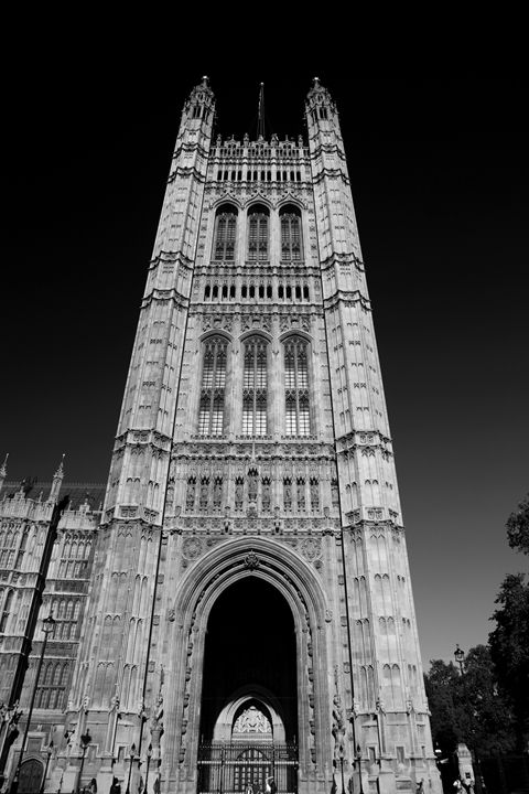 Victoria Tower, Houses of Parliament - Dave Porter Landscape Photography