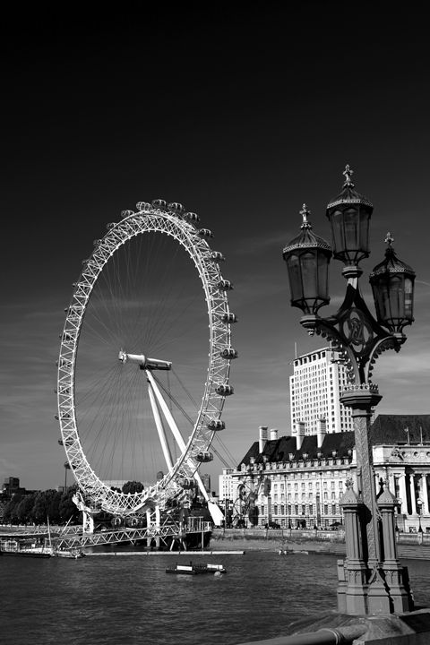 London Eye or Millennium Wheel - Dave Porter Landscape Photography