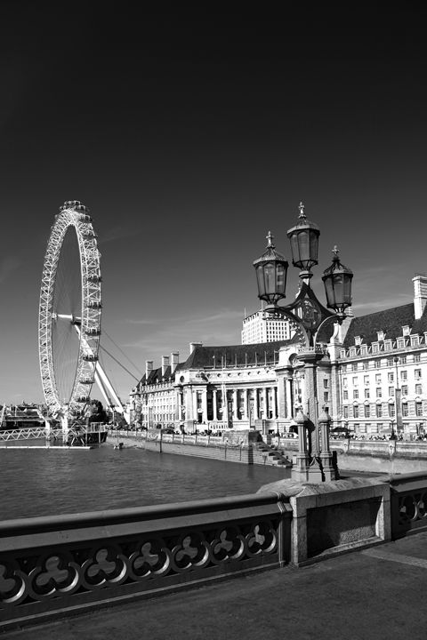 London Eye or Millennium Wheel - Dave Porter Landscape Photography