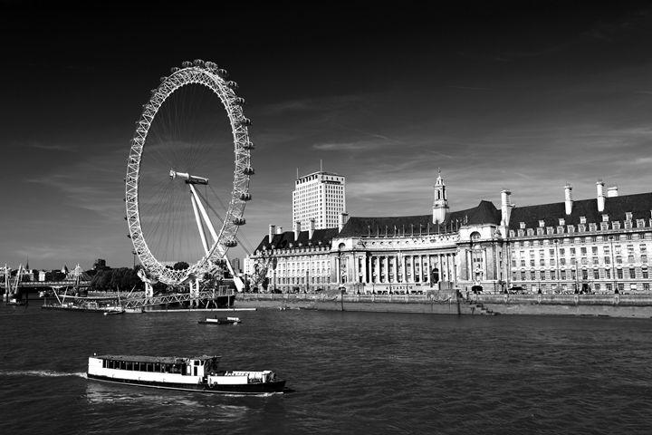 London Eye Millennium Wheel London - Dave Porter Landscape Photography