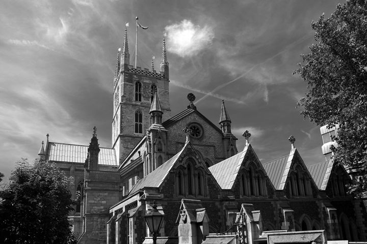 Southwark Cathedral London - Dave Porter Landscape Photography