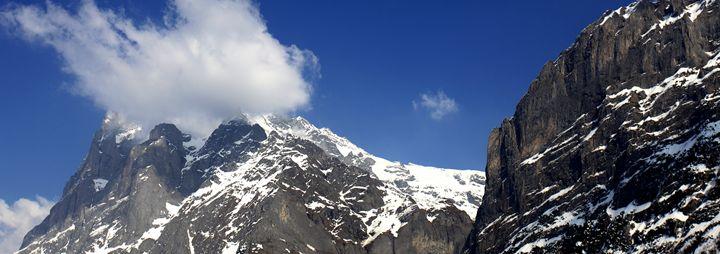 Wetterhorn mountain, Grindelwald - Dave Porter Landscape Photography