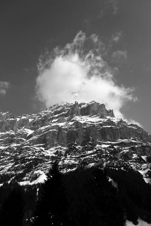 Schrekhorn mountain, Grindelwald - Dave Porter Landscape Photography