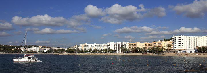 Santa Eulalia resort, Ibiza - Dave Porter Landscape Photography