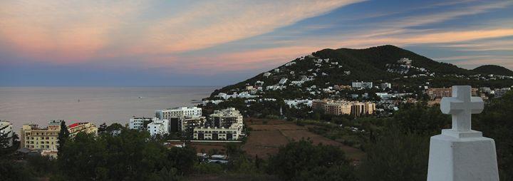 resort of Santa Eulalia, Ibiza - Dave Porter Landscape Photography