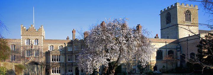 Jesus College Cambridge - Dave Porter Landscape Photography
